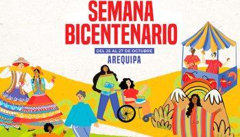Semana Bicentenario llega a Arequipa llevando un mensaje de identidad y diversidad
