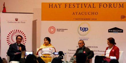Proyecto Bicentenario presente en el Hay Festival de Ayacucho y Arequipa