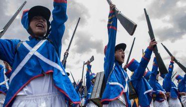 Quinua: miles de personas se conmovieron con la escenificación de la Batalla de Ayacucho