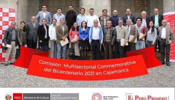 Cajamarca: Conforman Comisión Multisectorial Conmemorativa del Bicentenario