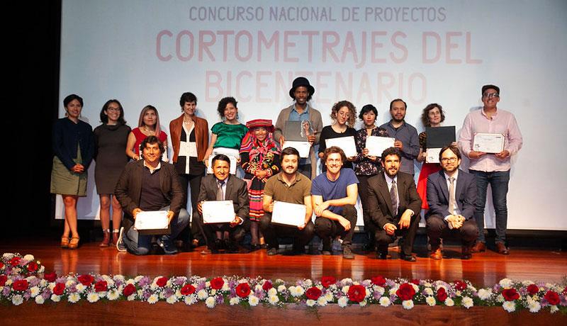 Ganadores del Concurso Nacional de Proyectos: Cortometrajes del Bicentenario estrenarán sus obras en festival de cine en Cusco