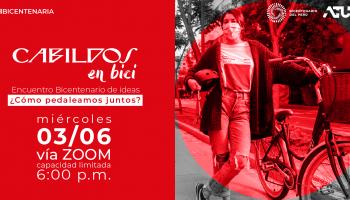 Cabildos en Bici: encuentro propone a la bicicleta como vehículo sostenible rumbo al Bicentenario