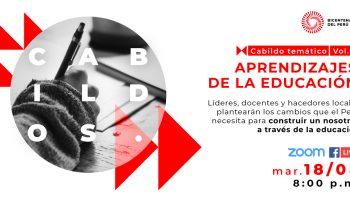 Cabildo Bicentenario: encuentro analizará las oportunidades y retos educativos en el Perú