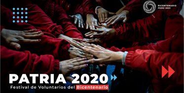 Festival Patria: el mayor encuentro de voluntarios del Perú será virtual este año