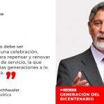 """Presidente Sagasti en Cabildos Bicentenario: """"El Bicentenario es un enorme desafío para la juventud"""""""