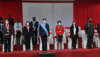 Cajamarca conmemoró los 200 años de su independencia con ceremonia y paseo de bandera