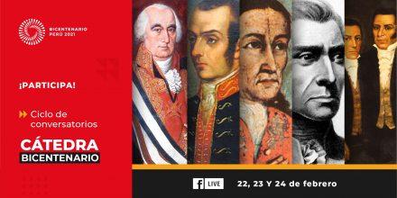 Proyecto Bicentenario iniciará ciclo de conversatorios sobre episodios históricos de la independencia del Perú