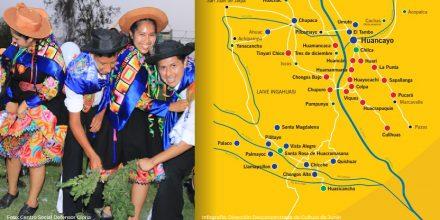 Conoce la ruta del huaylarsh: un mapa de música y zapateo en más de 40 lugares del valle del Mantaro