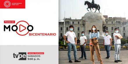 Este sábado 13 de febrero se estrenará la tercera temporada de Modo Bicentenario por Tv Perú