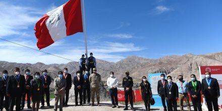 Tacna: develan placa conmemorativa por el Bicentenario del triunfo de la batalla de Mirave