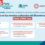Conozca las actividades del Proyecto Bicentenario en la sexta edición de la Feria Lima Lee