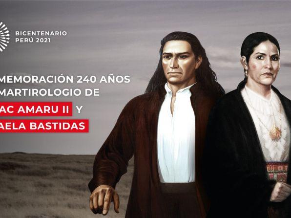 Este 18 de mayo se conmemorará los 240 años de la muerte de Túpac Amaru II y Micaela Bastidas